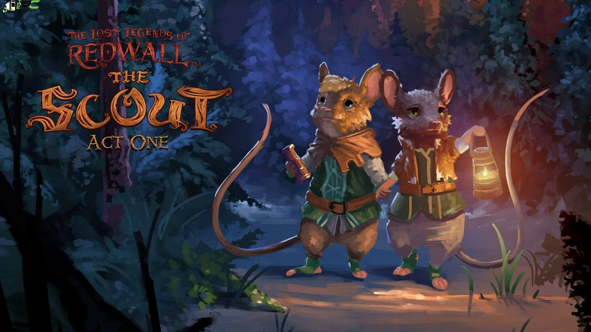 The Lost Legends of Redwall The Scout Collector Cover