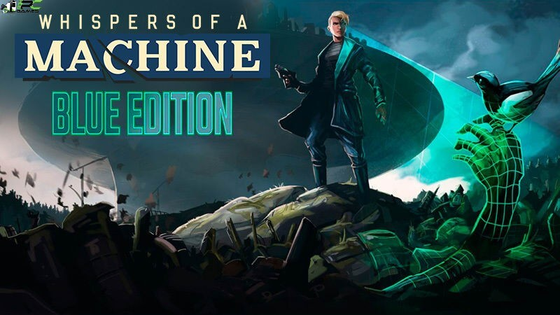Whispers of a Machine Blue Edition Cover