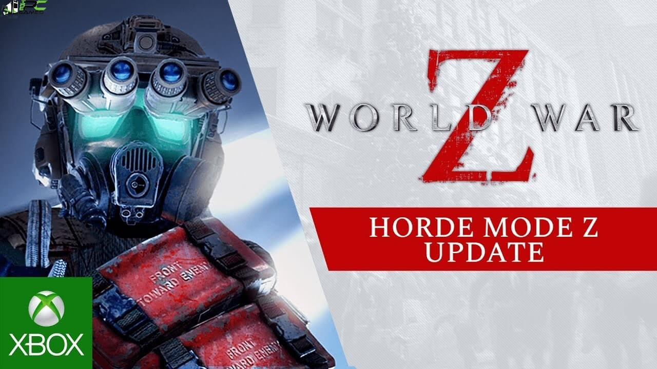 World War Z Horde Mode Z Cover