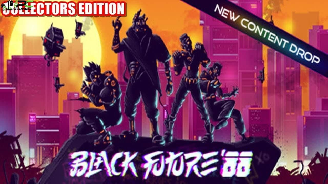 Black Future 88 Collectors Edition Cover