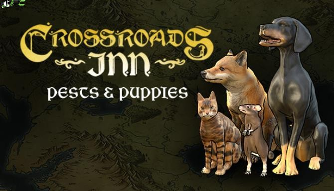 Crossroads Inn Pests and Puppies Cover