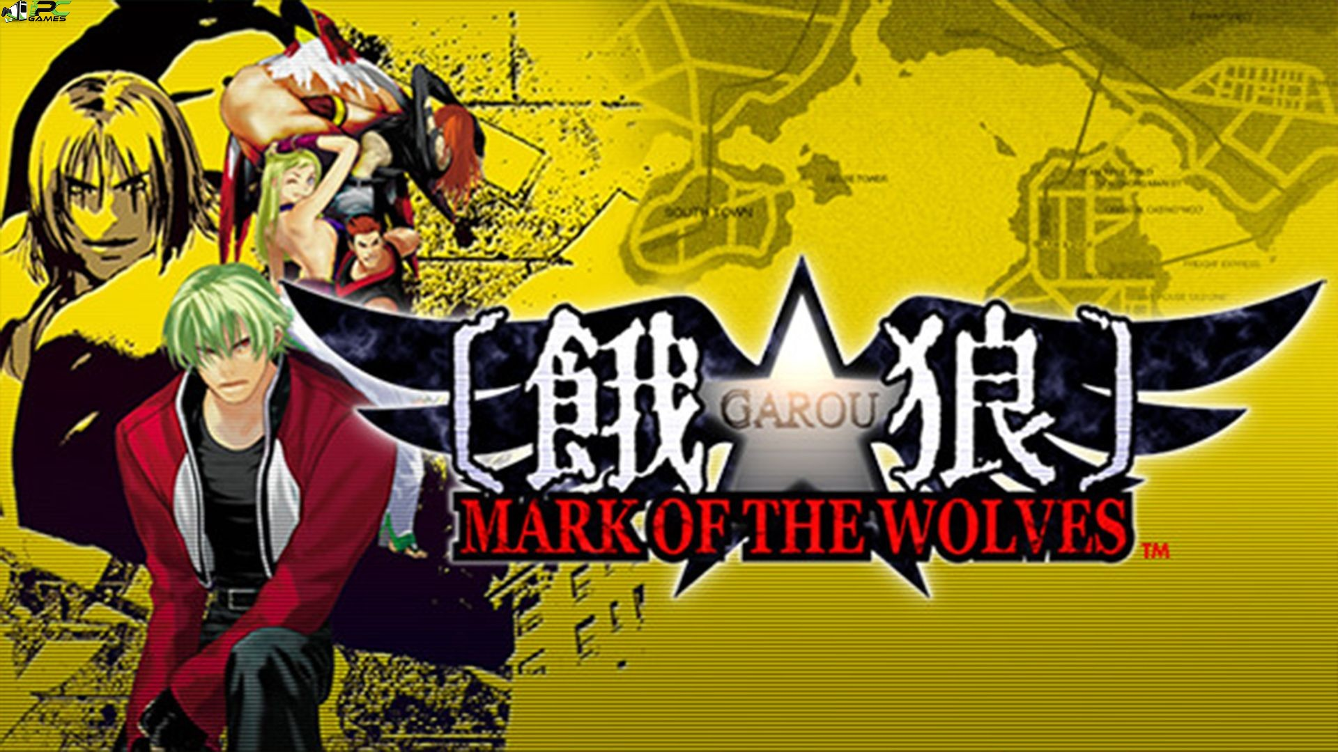 Garou Mark of the Wolves Cover