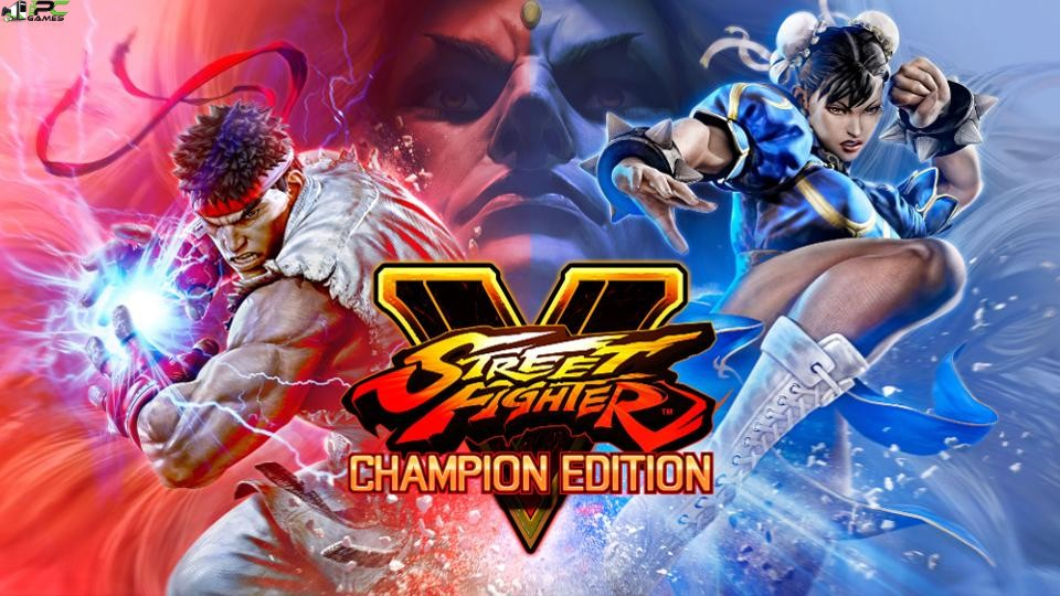 Street Fighter V Champion Edition Cover