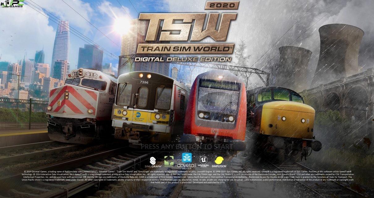 Train Sim World 2020 Cover