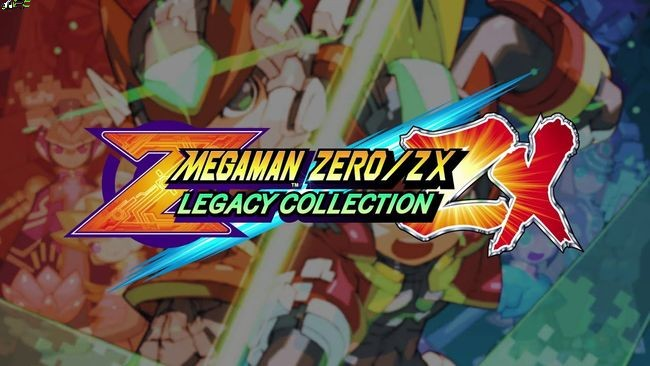 Mega Man Zero ZX Legacy Collection Cover