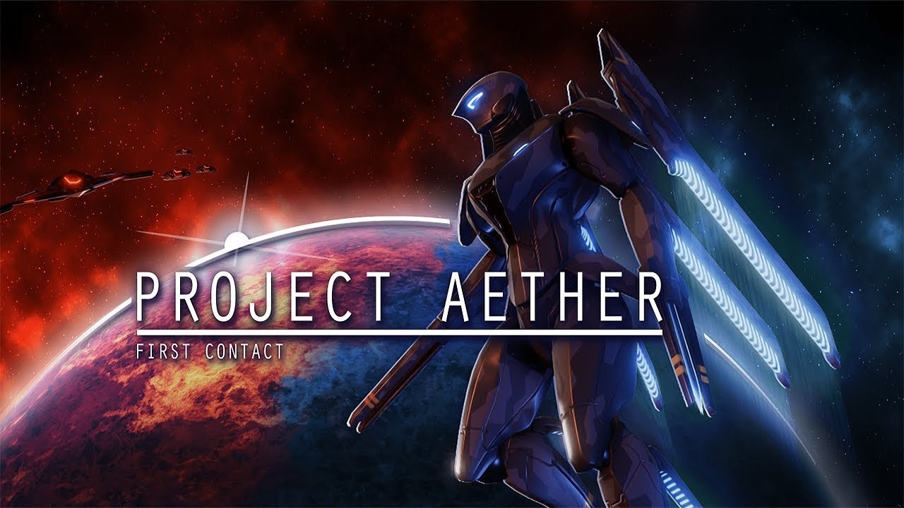 Project AETHER First Contact Cover