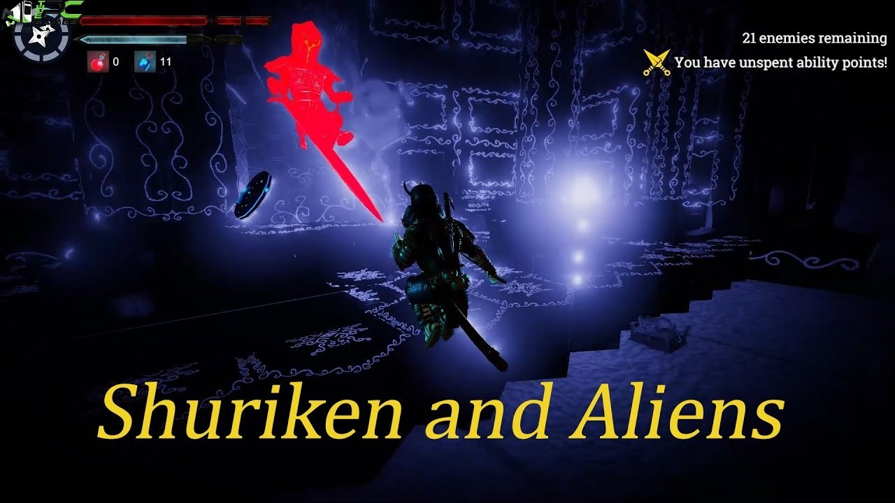 Shuriken and Aliens Cover