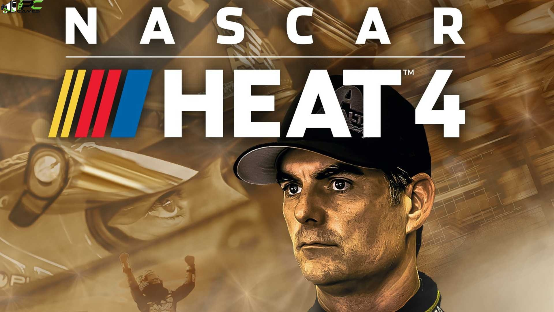 NASCAR Heat 4 Gold Edition Cover
