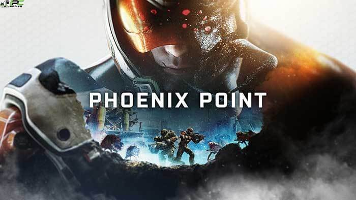 Phoenix Point Blood and Titanium Cover