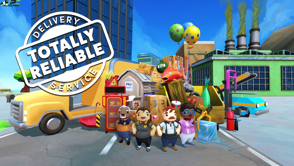 Totally Reliable Delivery Service Deluxe Edition Cover