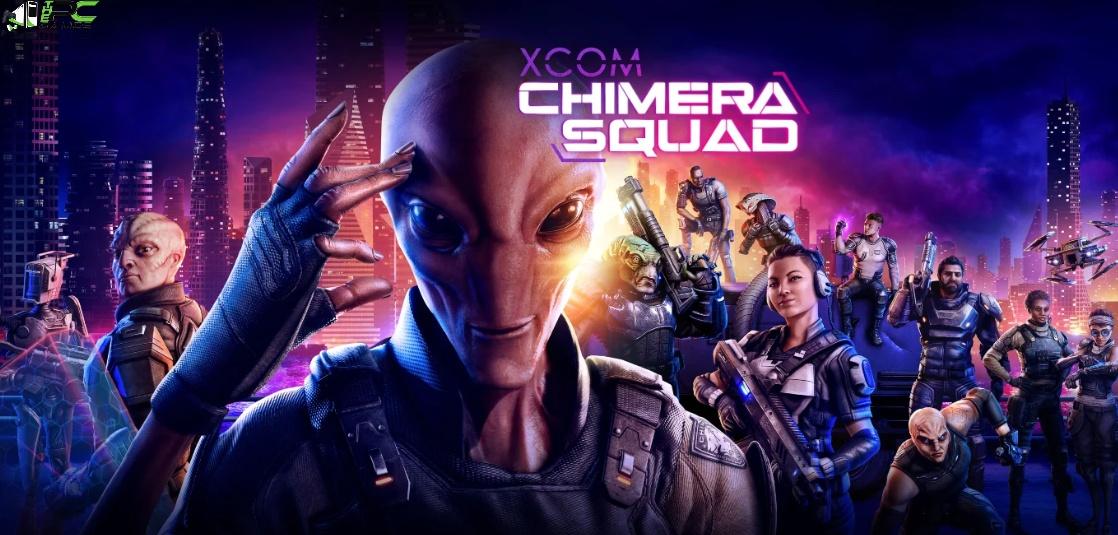 XCOM Chimera Squad Cover