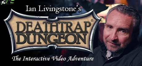 Deathtrap Dungeon The Interactive Video Adventure Cover