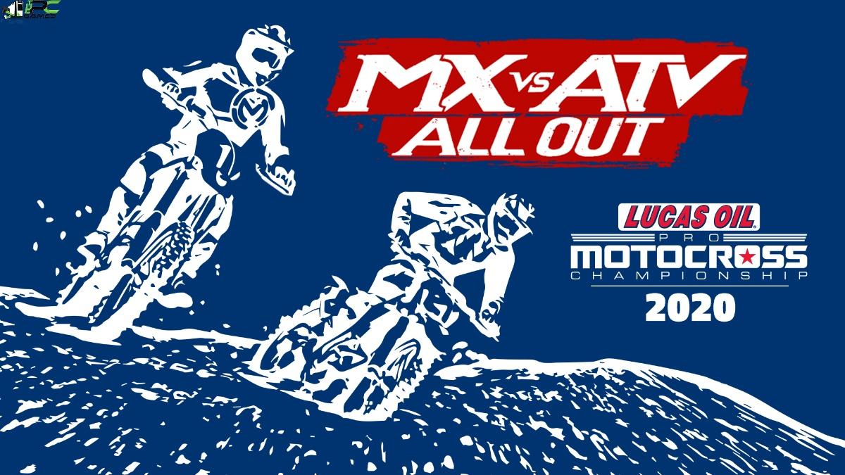 MX vs ATV All Out 2020 AMA Pro Motocross Championship Cover