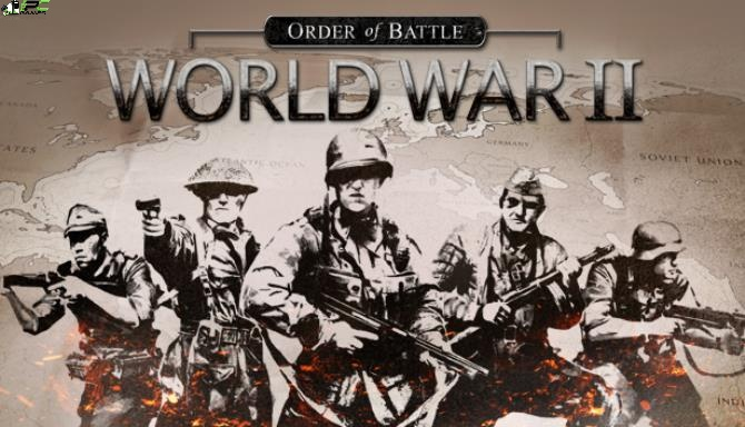 Order of Battle World War II Red Steel Cover