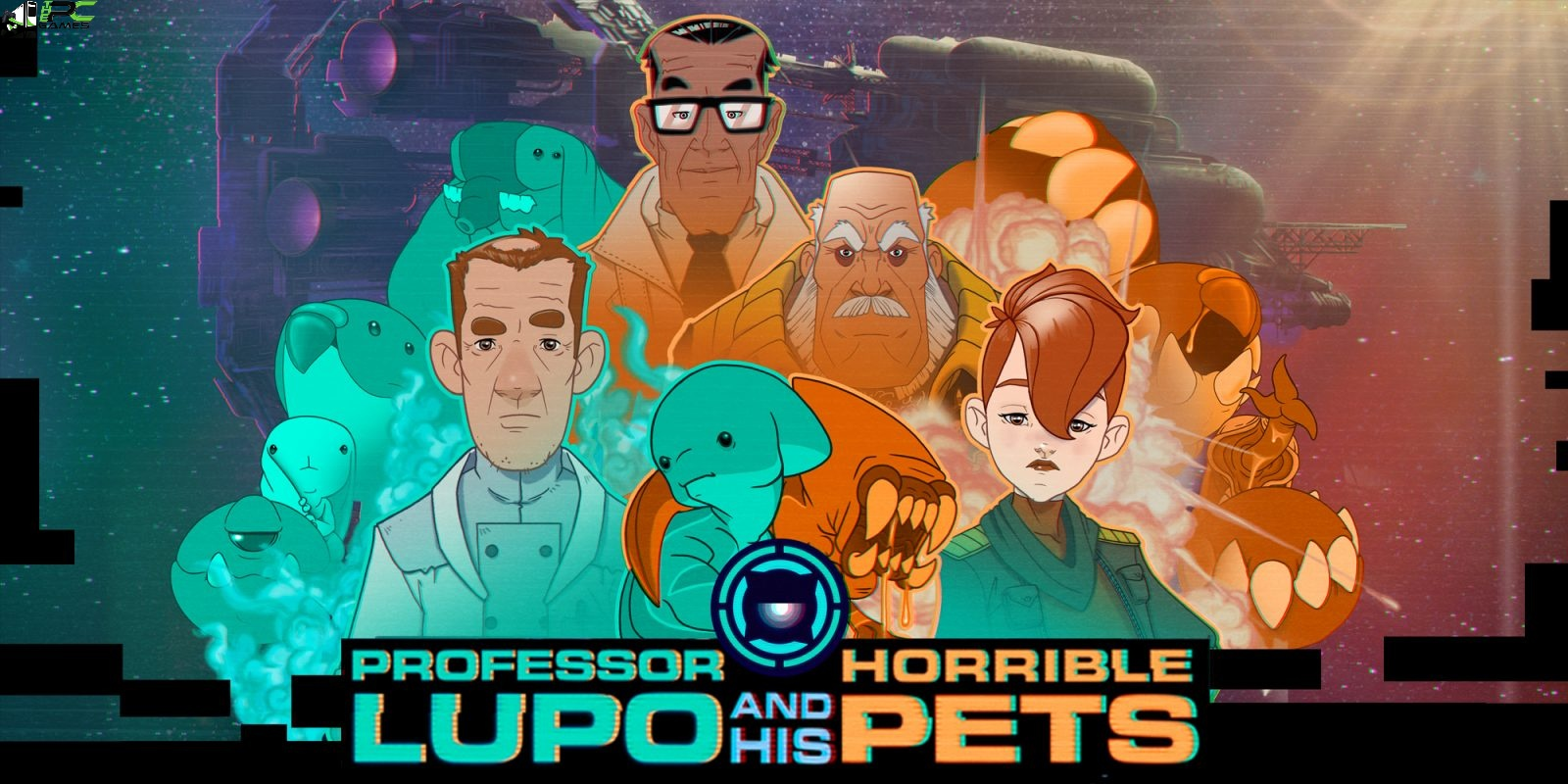 Professor Lupo and his Horrible Pets Cover