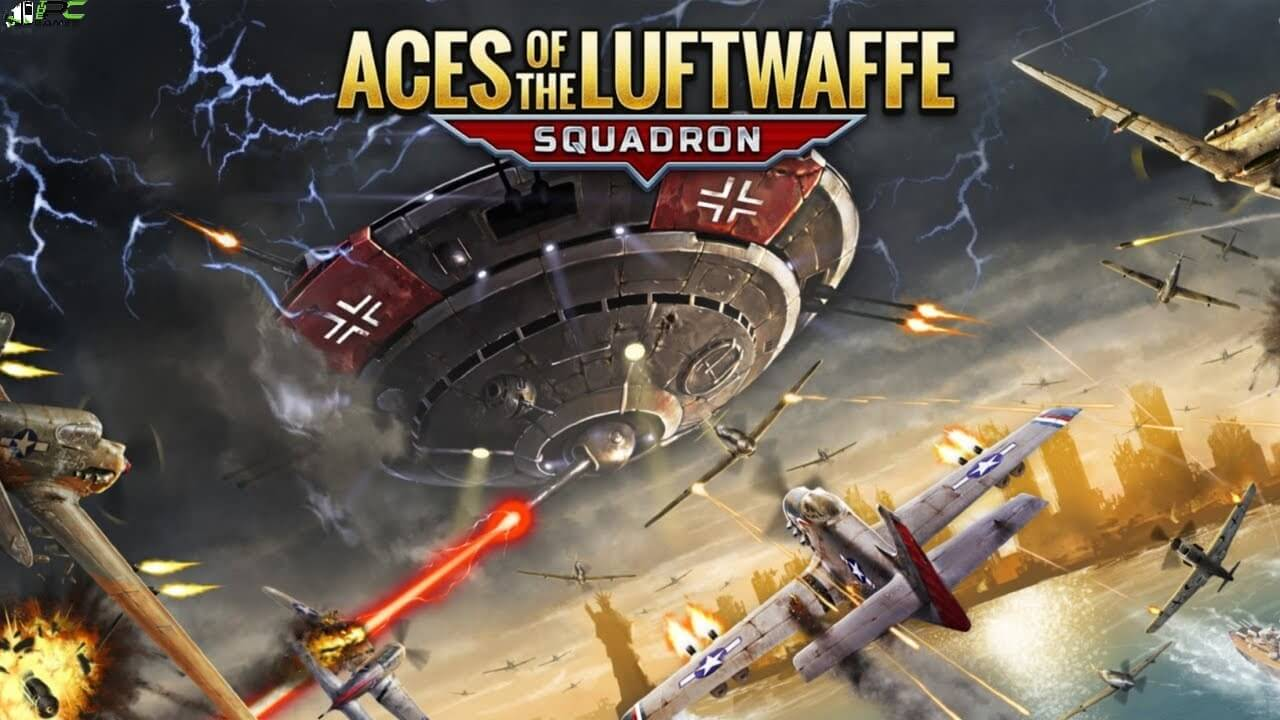 Aces of the Luftwaffe Squadron Extended Edition Cover