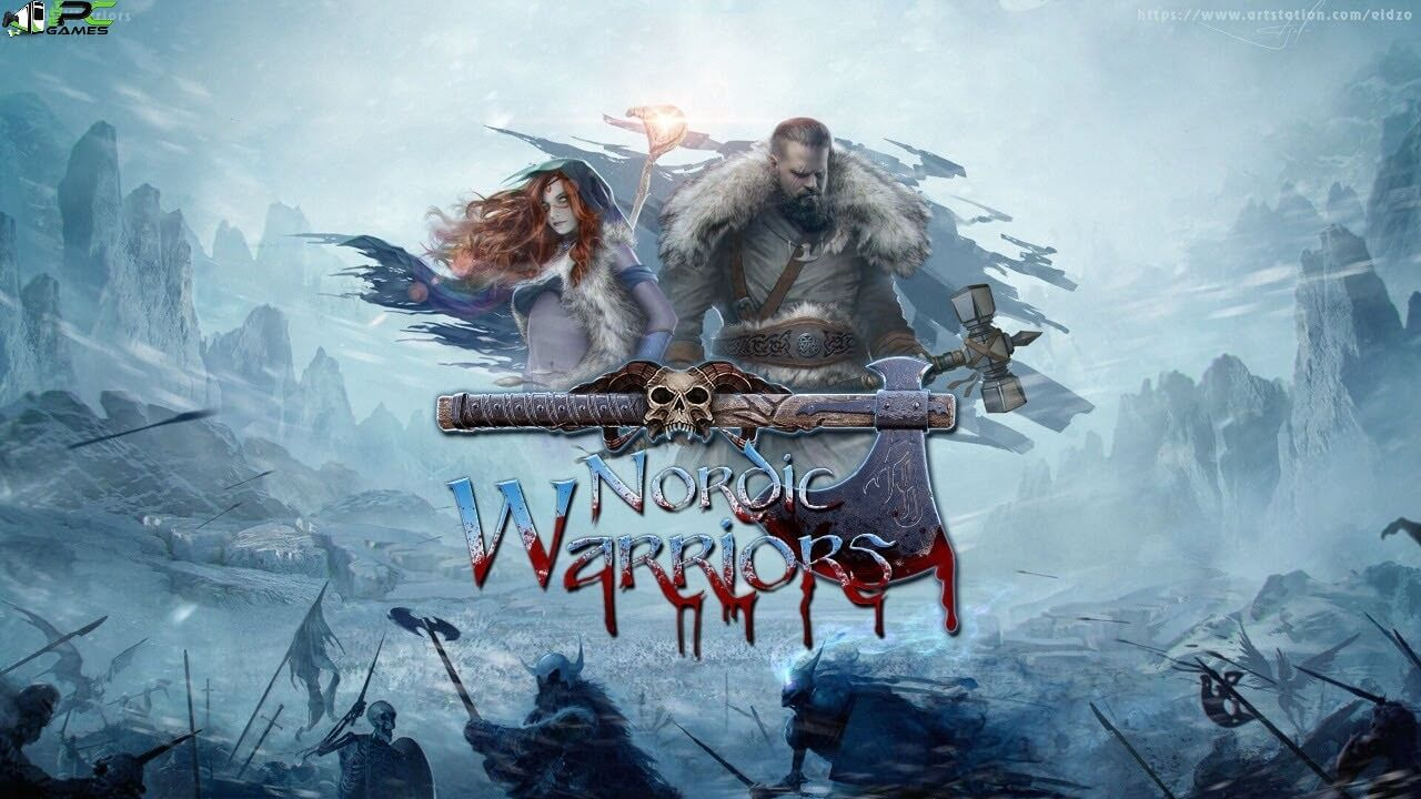 Nordic Warriors Cover