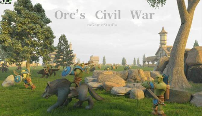 Orcs Civil War Cover