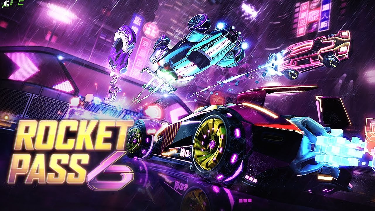 Rocket League Rocket Pass 6 Cover