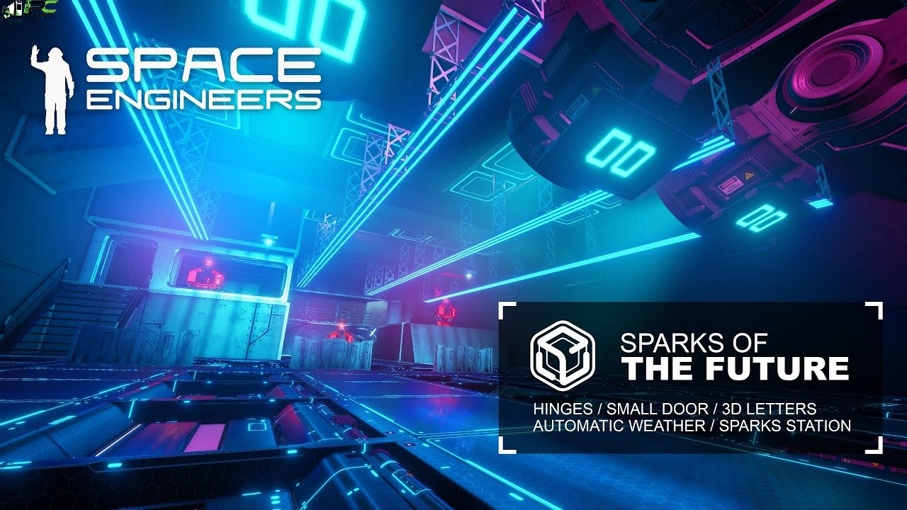 Space Engineers Sparks of the Future Cover
