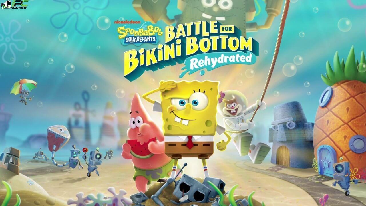 SpongeBob SquarePants Battle for Bikini Bottom Rehydrated Cover