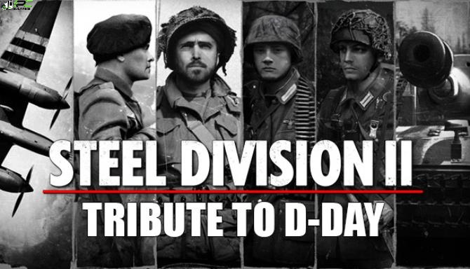 Steel Division 2 Tribute to D Day Cover