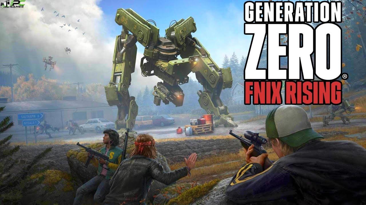 Generation Zero FNIX Rising Cover