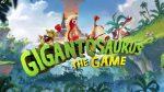 Gigantosaturus The Game Cover