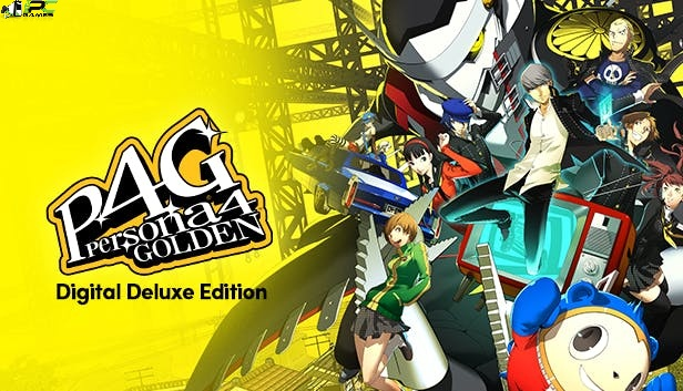 Persona 4 Golden Deluxe Edition Cover