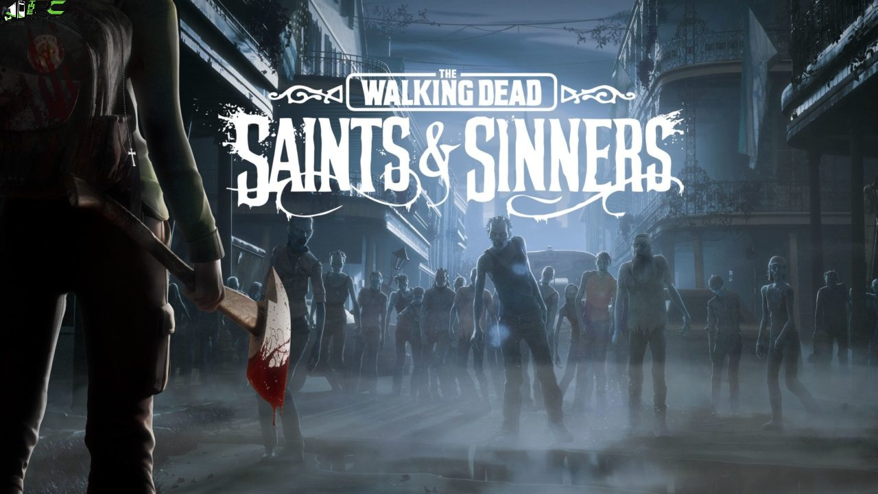 The Walking Dead Saints and Sinners The Meatgrinder Logo