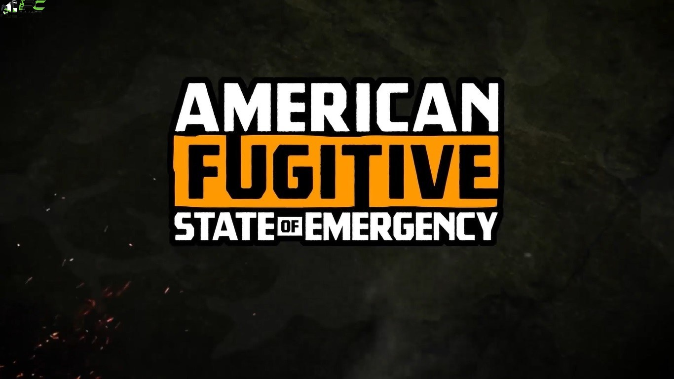 American Fugitive State of Emergency Cover