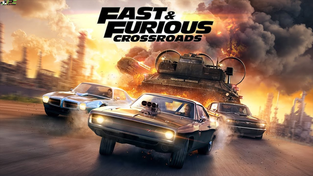 Fast and Furious Crossroads Cover