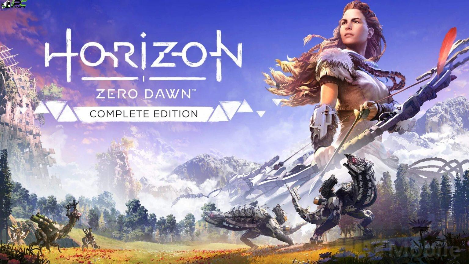 Horizon Zero Dawn Cover