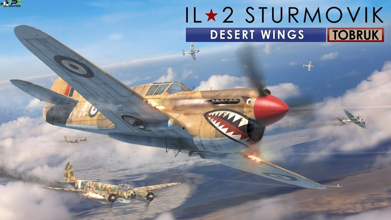 IL 2 Sturmovik Desert Wings Tobruk Cover