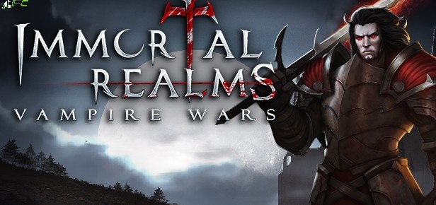 Immortal Realms Vampire Wars Cover