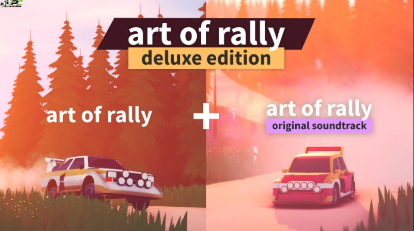 Art of Rally Deluxe Edition Cover