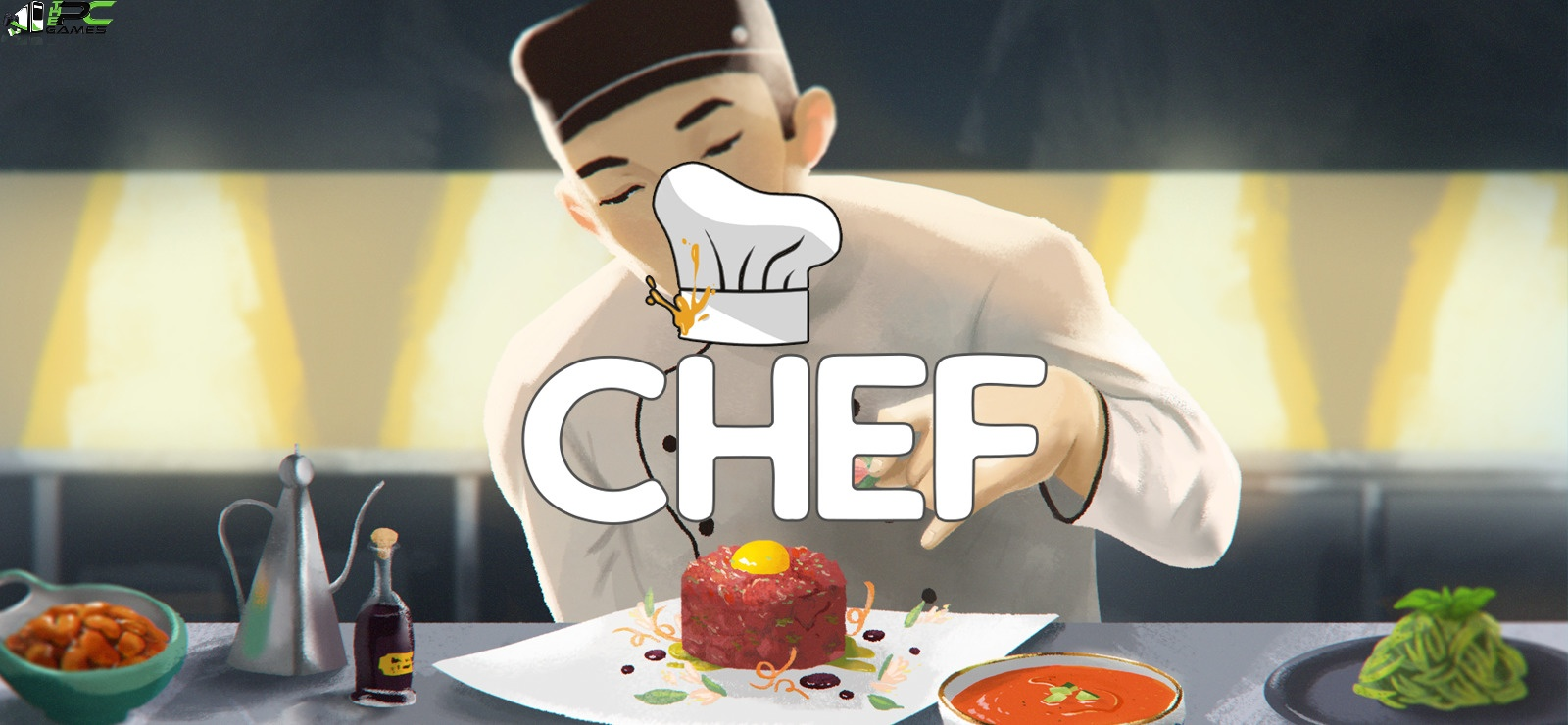 Chef A Restaurant Tycoon Game Cover