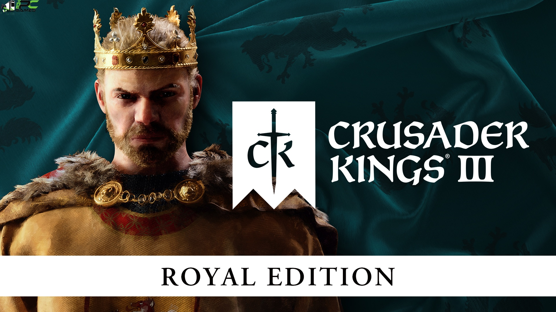 Crusader Kings III Royal Edition Cover