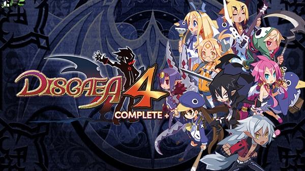 Disgaea 4 Complete Plus Cover