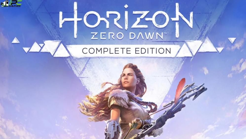 Horizon Zero Dawn Complete Edition Coverr