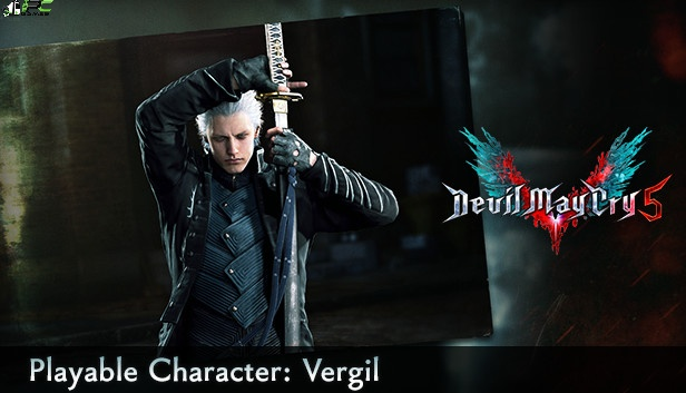 Devil May Cry 5 Vergil Cover