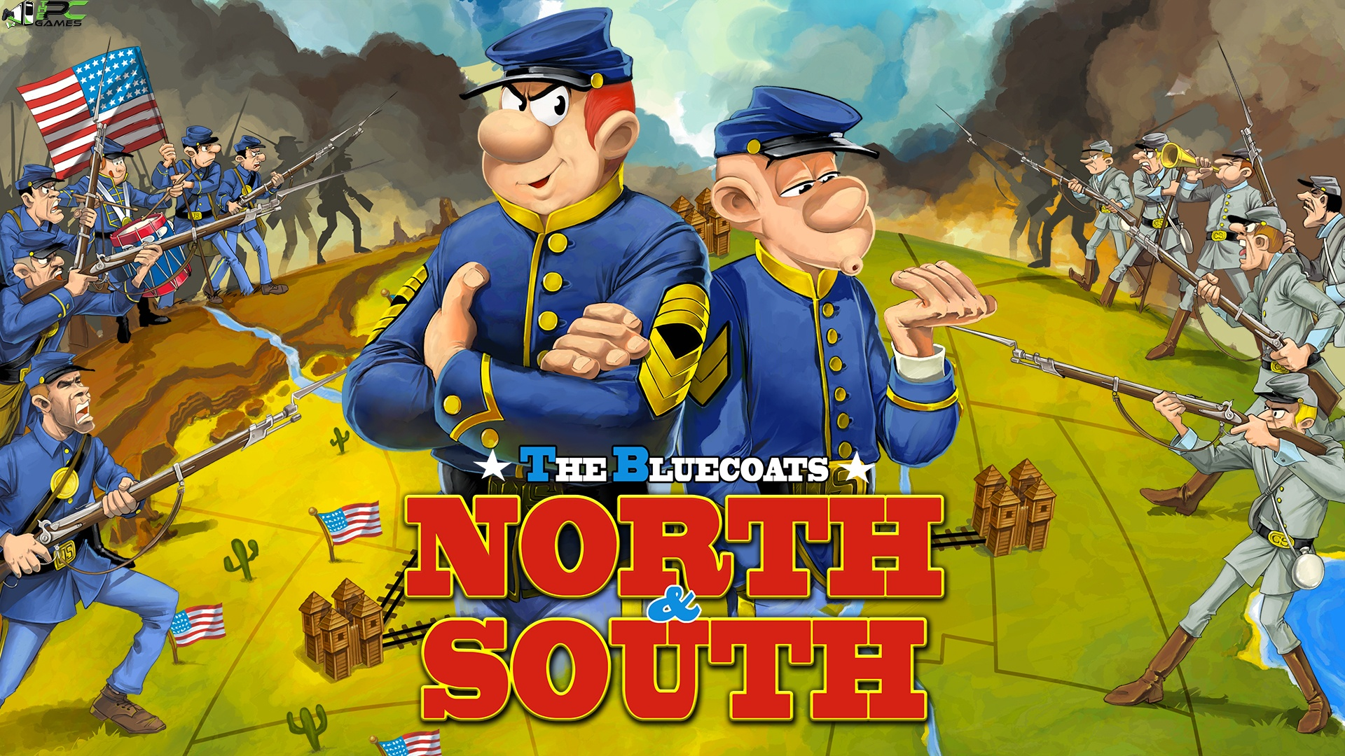 The Bluecoats North and South Remastered Cover