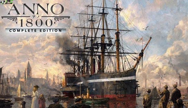 Anno 1800 Complete Edition Cover
