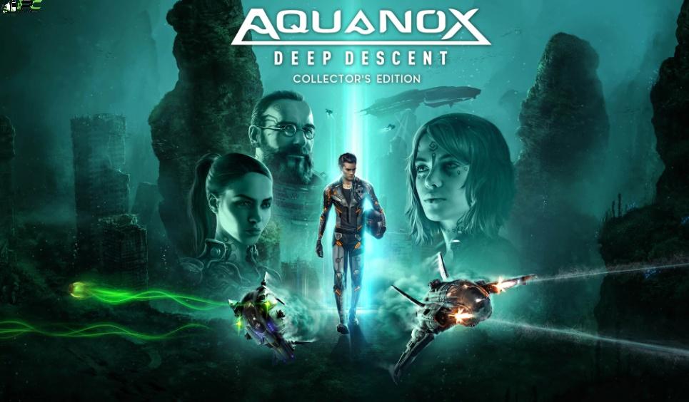Aquanox Deep Descent Collectors Edition Cover