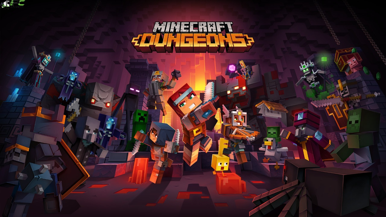 Minecraft Dungeons Cover