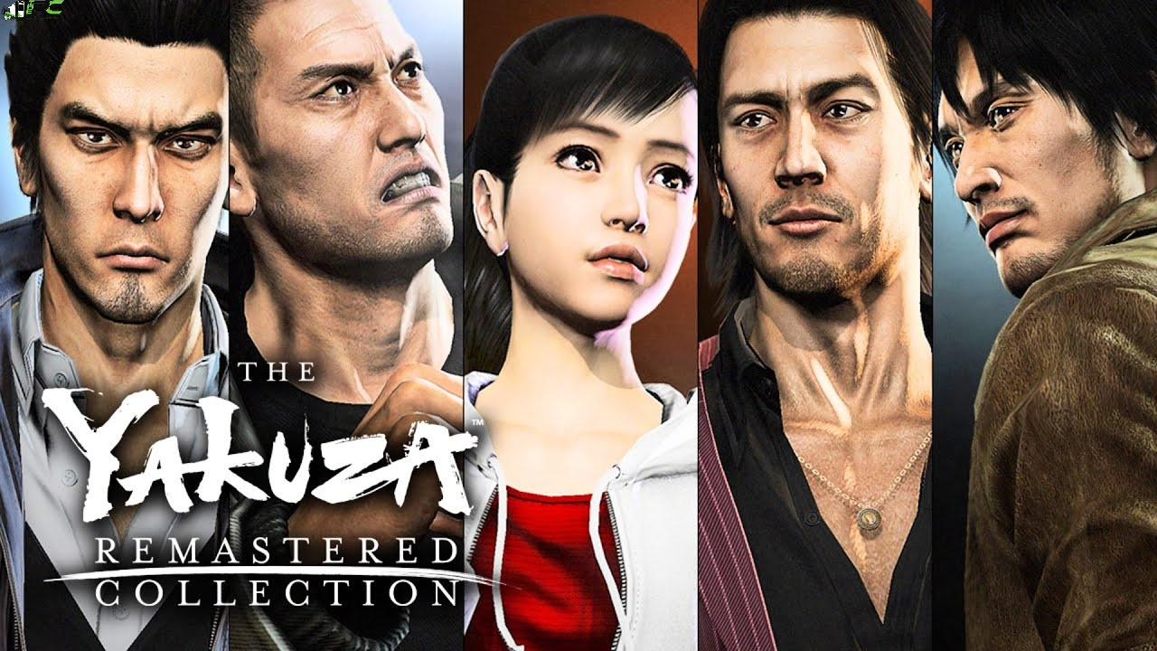 Yakuza 5 Remastered Cover